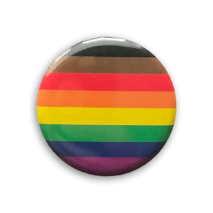Gay Pride Flag Pin-back Button