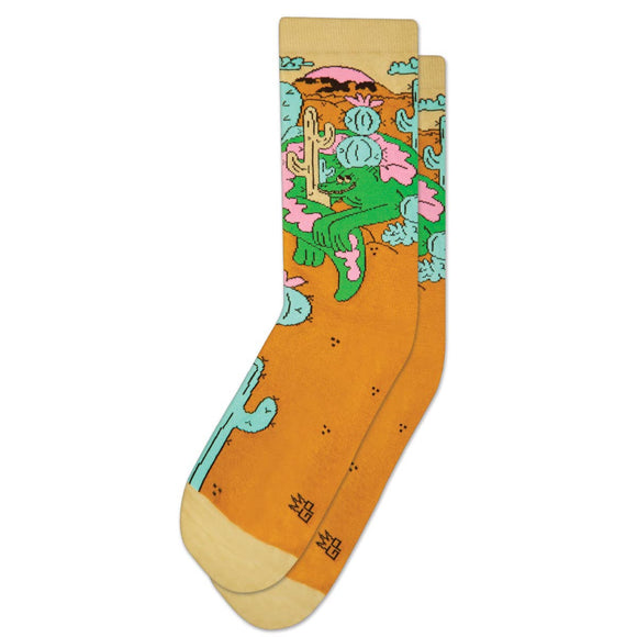 Lazy Lizard Dress Crew Socks