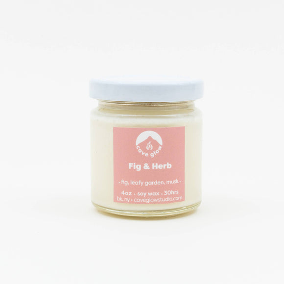 Fig and Herb Candle