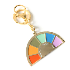 Over the Rainbow Keychain