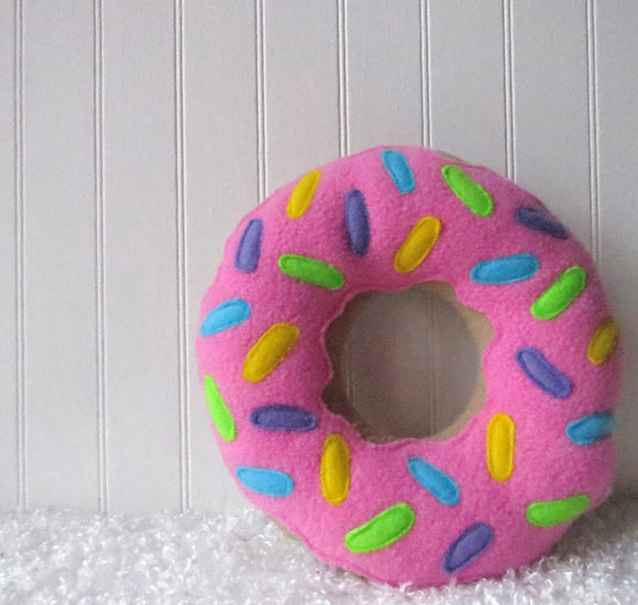 Mini Donut Pillow
