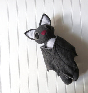 Grey Bat Plush