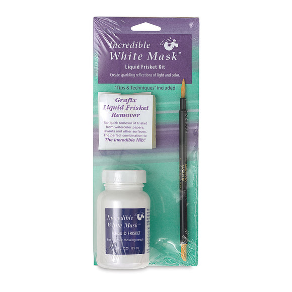 Incredible White Mask Liquid Frisket Kit