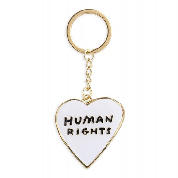 Human Rights Keychain