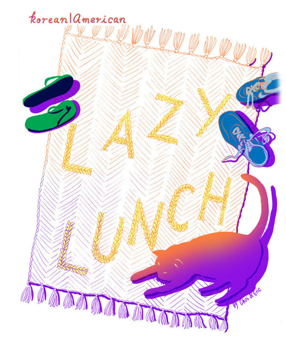 Lazy Lunch Zine