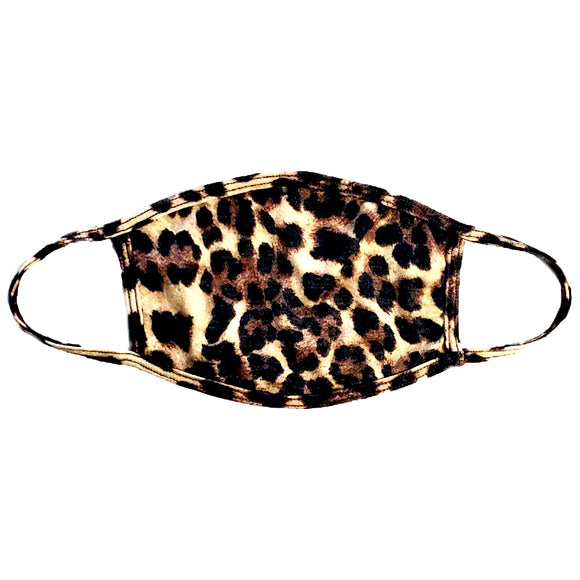 Leopard Personal Face Mask