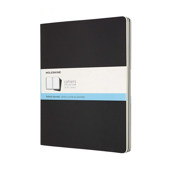 Moleskine Cahiers Dotted Journals - XXL