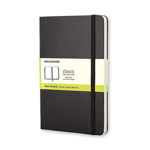 Moleskine Classic Plain Notebook - SM