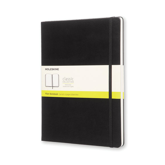 Moleskine Classic Plain Notebook - XL