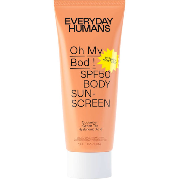 Oh My Bod SPF50 Body Sunscreen Lotion