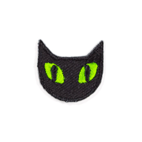 Black Cat Was Embroidered Sticker Patch