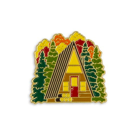 Cabin Love Enamel Pin