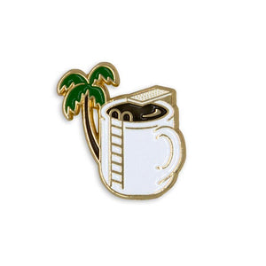 Coffee Enamel Pin