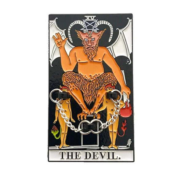 Devil Enamel Pin