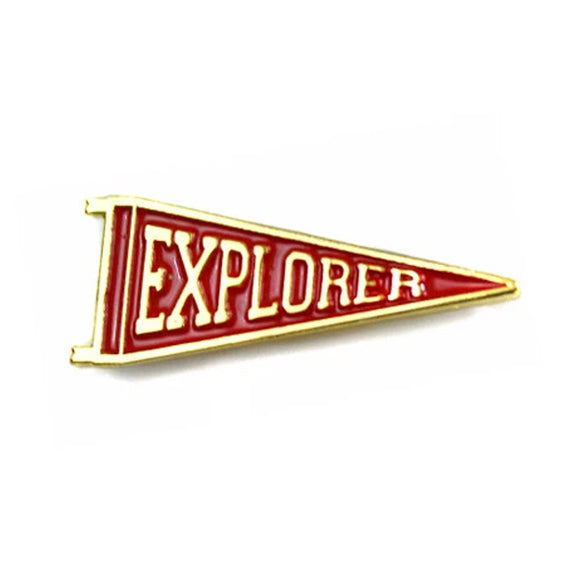 Explorers Enamel Pin