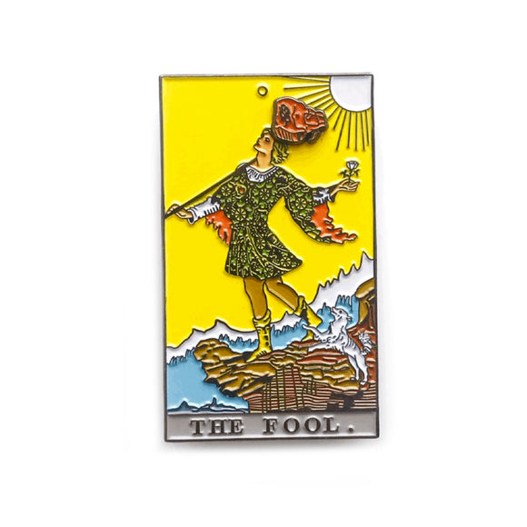 Fool Enamel Pin