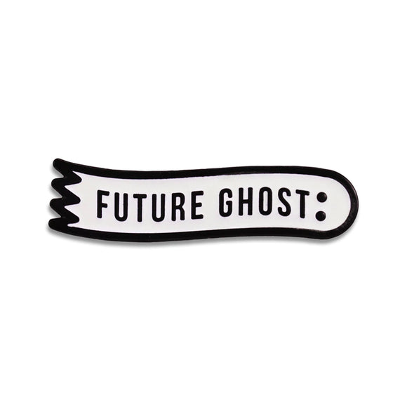 Future Ghost Enamel Pin