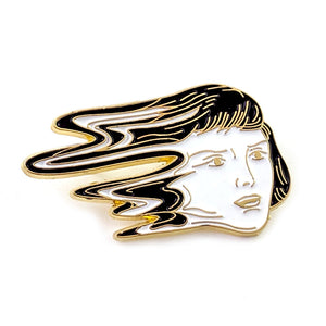 Glitched Enamel Pin