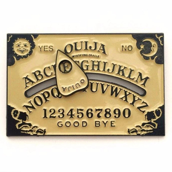 Ouija Board Enamel Pin
