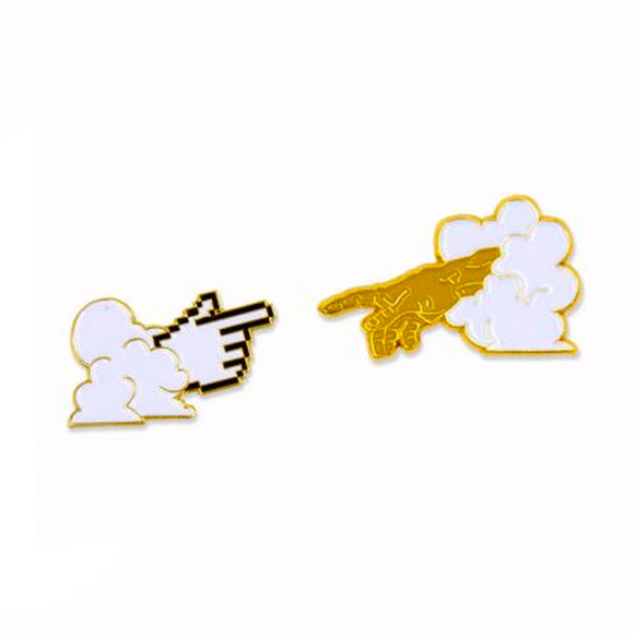 Holy Cursor Enamel Pin Set