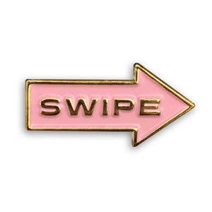 Right Arrow Enamel Pin