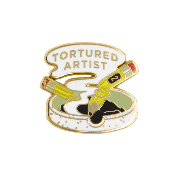 Tortured Artist Enamel Pin