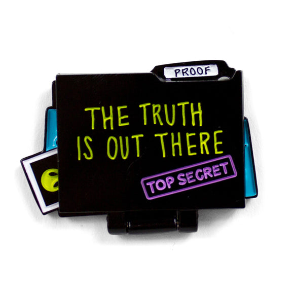 The Truth Is Out There Enamel Pin