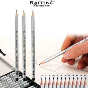 Raffine Graphite Drawing Pencil