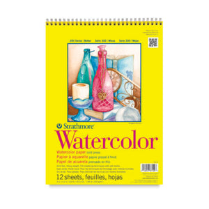 Strathmore Watercolor Paper Pad 300 Series
