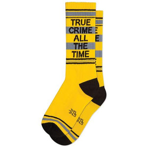 True Crime All The Time Dress Socks