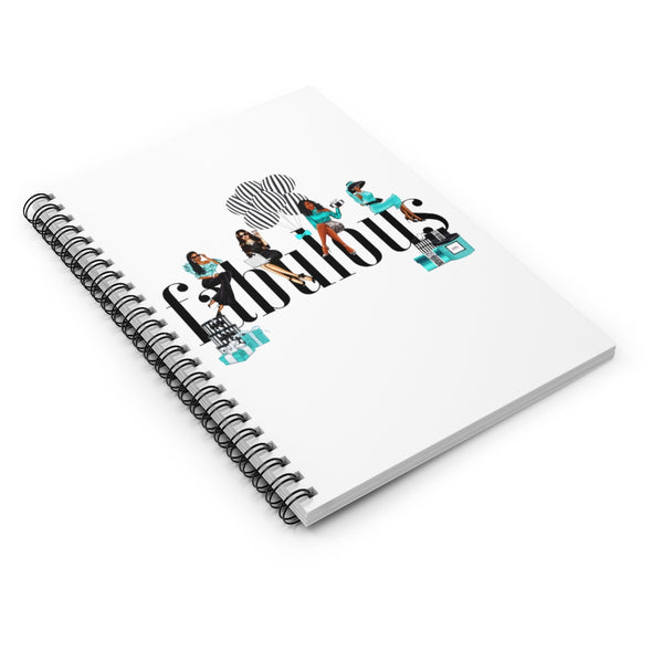 FABULOUS Spiral Notebook - Ruled Line