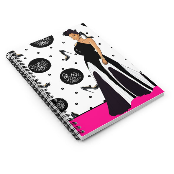 CPNS Sister Stand Tall Spiral Notebook - Ruled Line