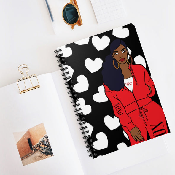 XOXO GIRL Spiral Notebook - Ruled Line