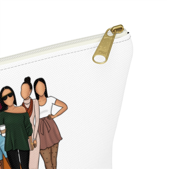 Hey Brown Girls Accessory Pouch w T-bottom