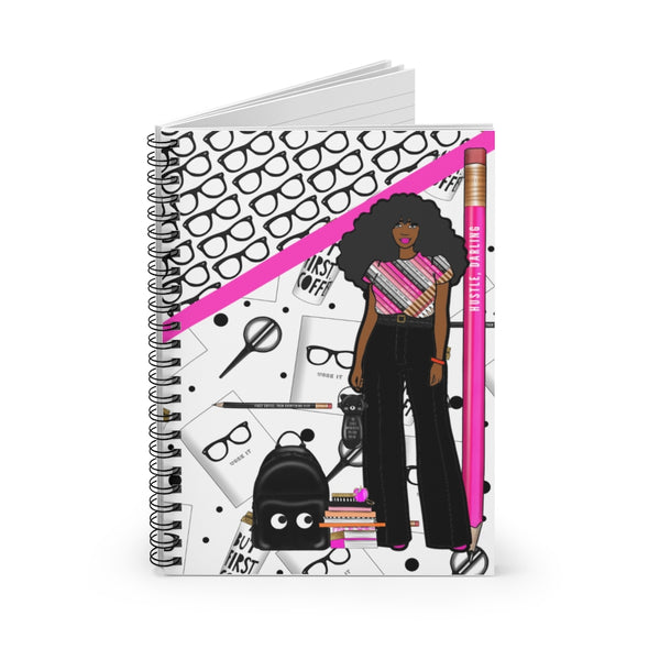Hustle Darling Spiral Notebook - Ruled Line