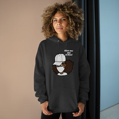 Give Me My 6 Feet Pullover Hoodie Sweatshirt