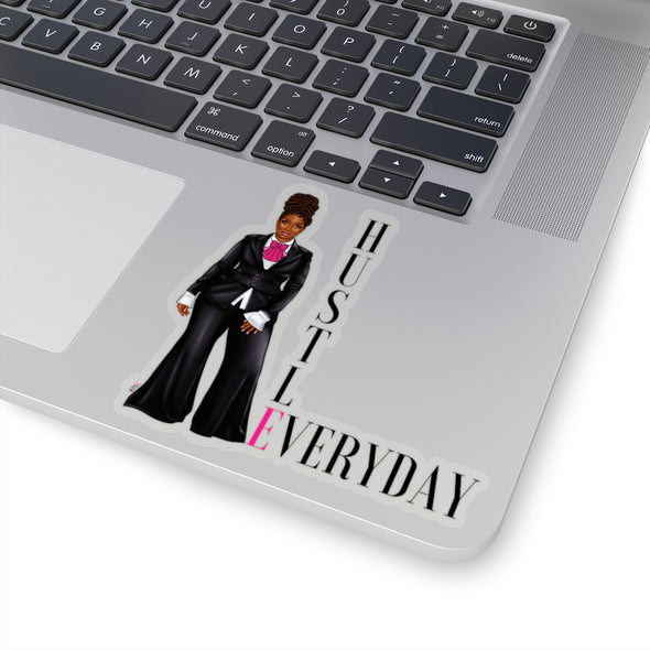 HUSTLE EVERYDAY Boss Stickers