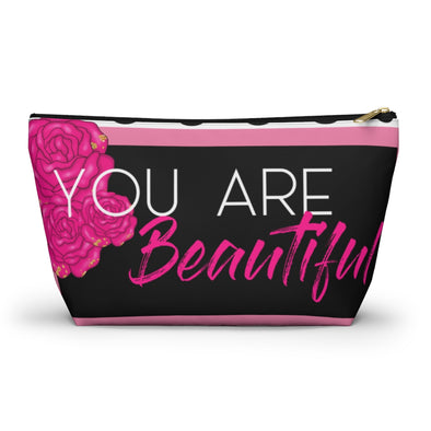 You are Beautiful Accessory Pouch w T-bottom