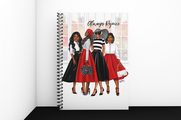 Always Rejoice Notebook