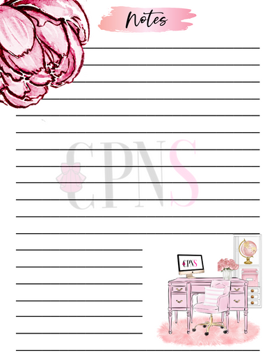 Digital Lined Paper