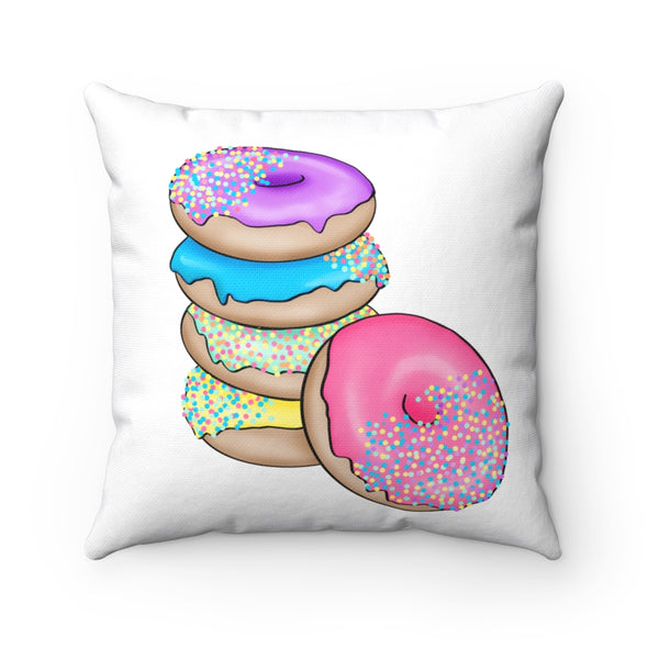 Got Donuts? Square Pillow