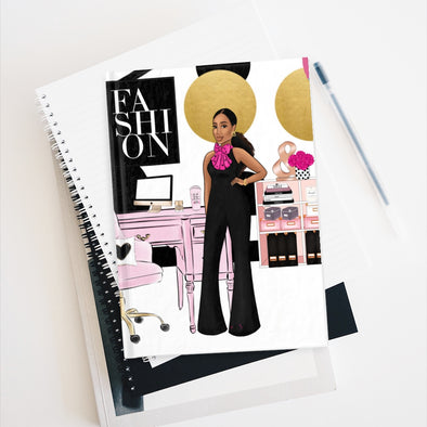 Fashion Girl Office Journal - Ruled Line