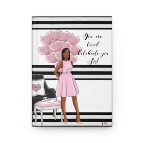 You are Loved Hardcover Journal Matte
