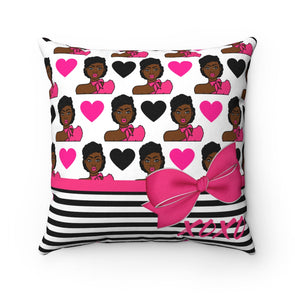 Latika Love Square Pillow