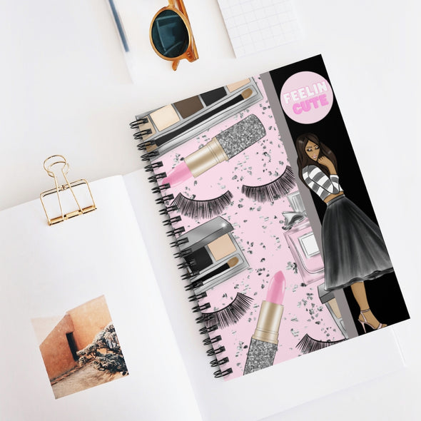 Feelin' Cute Spiral Notebook - Ruled Line