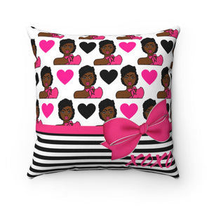 Latika Love Square Pillow Case