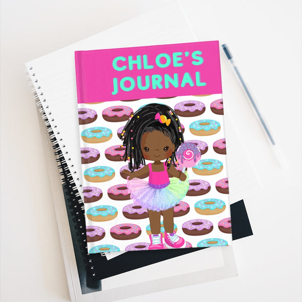 Personalized Donut Journal