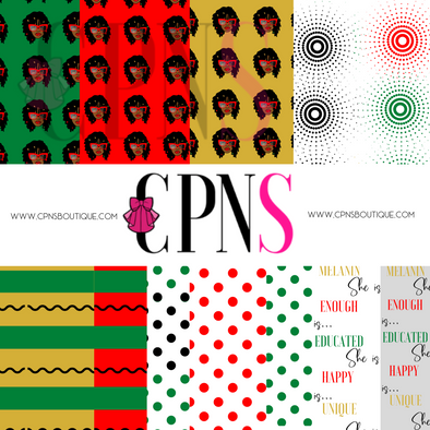 LOCS GIRL DIGITAL PAPER