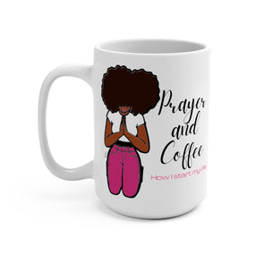 Prayer and Coffee mug