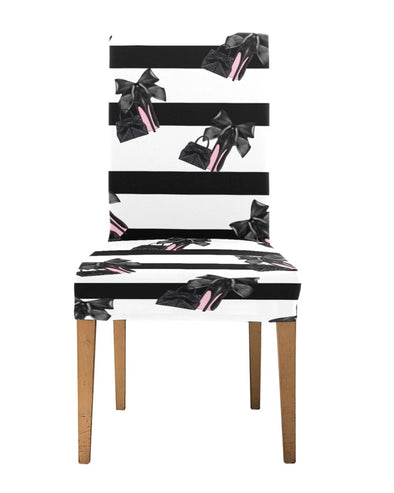 Heels and Purse Chair Covers (set of 4)